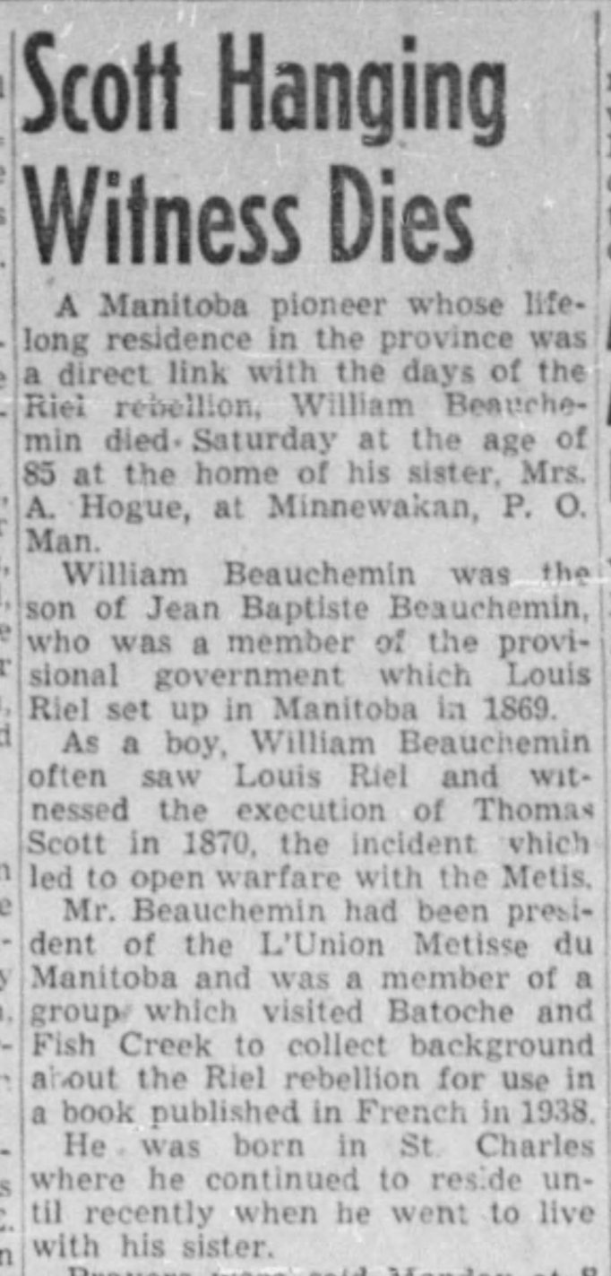 The Winnipeg Tribune, April 10, 1946